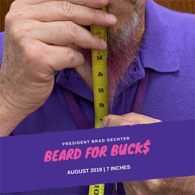 DHX-Dependable Hawaiian Express Beard for Bucks Help Fight Homelessness campaign