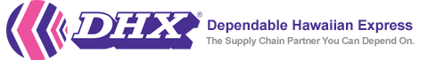 DHX - Dependable Hawaiin Express logo