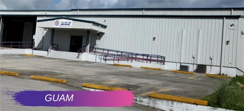 DHX-Dependable Hawaiian Express's Guam warehouse
